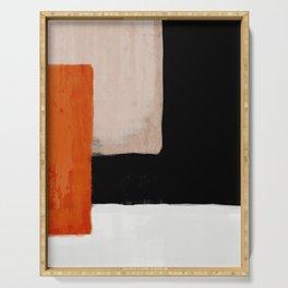 abstract minimal 14 Serving Tray