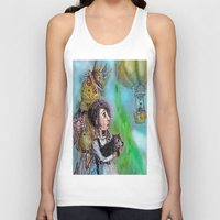 oz Tank Tops featuring  oz by AliluLera