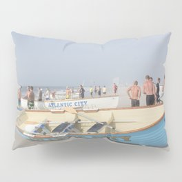 Atlantic City Lifeboats Pillow Sham