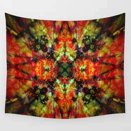Kaleidoscope star pattern Wall Tapestry