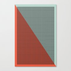 Farbe//Two Canvas Print