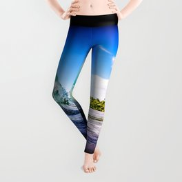 Tropical Wave Leggings