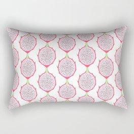 Dragon Fruit Pattern Rectangular Pillow