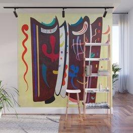 Wassily Kandinsky Brown Supplement Wall Mural