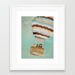 a little wondrous adventure Framed Art Print