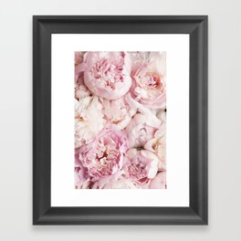 Peonies- Print I Framed Art Print