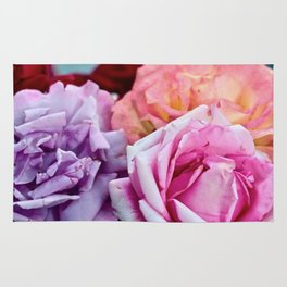The Happiness of Roses Rug