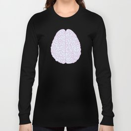 Pastel Brain Long Sleeve T-shirt