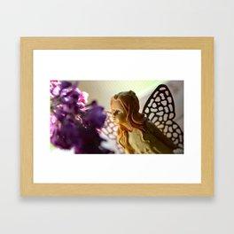 Broken Angel Lilac Garden Framed Art Print