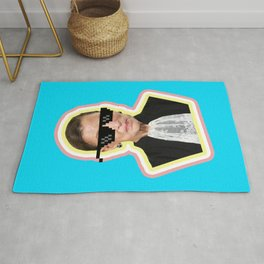 "The Notorious RBG Says ""Deal With It"" Rug"