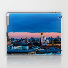 Moscow Sunset With An UFO Laptop & iPad Skin