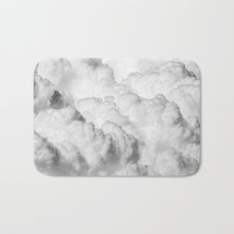 White Clouds Bath Mat