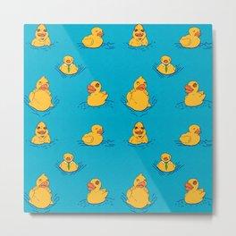 Distressed Duckies Metal Print