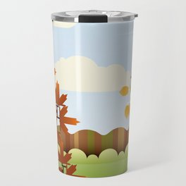 A Fine Autumnal Day Travel Mug
