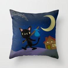Whim takes a trip! Throw Pillow