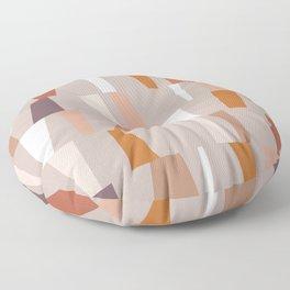 Neutral Geometric 03 Floor Pillow