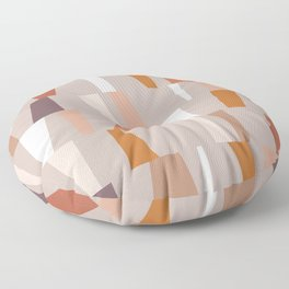 Neutral Geometric 03 Floor Pillow