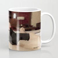 cunt Mugs featuring funny painting slut BDSM fetish Big dick cock suck oral sex pussy cunt transgender anal fuck  by Velveteen Rodent