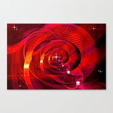 Metaphysische Hemisphäre. Canvas Print