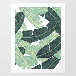 BANANA LEAVES 2 Art Print