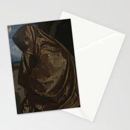 Girolamo Savoldo - Saint Mary Magdalene at the Sepulchre Stationery Cards
