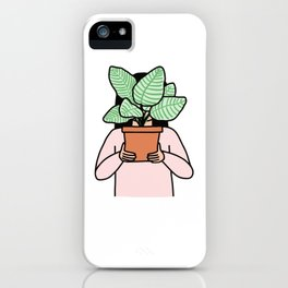 Plant Collector iPhone Case