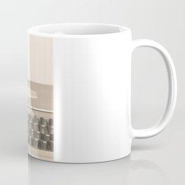 Soft Typewriter (Retro and Vintage Still Life Photography) Coffee Mug
