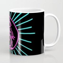Pink Laughing Skull Coffee Mug