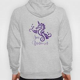 Seahorse Sea Unicorn Cute Sea Creature Hoody