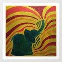 elephant I by chanovsky