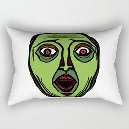 Fright Face (transparent) Rectangular Pillow