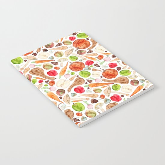 Fruit and Vegetables  Notebook
