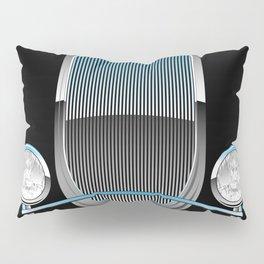 1930s Style Street Rod Car Grill Pillow Sham