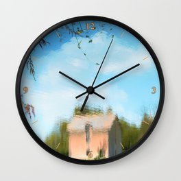 Topsy Turvy Wall Clock