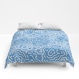 Cyber Chinoiserie Comforters