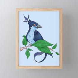 Bird Framed Mini Art Print