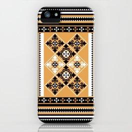Thundu kunaa (black and yellow) iPhone Case