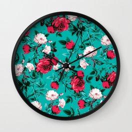RPE FLORAL VII Wall Clock