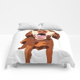 Beautiful Vizsla Comforters