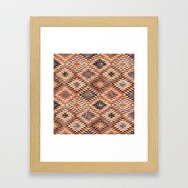 Arizona Southwestern Tribal Print Framed Art Print
