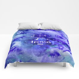 Aquarius Constellation Comforters