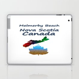 Melmerby Beach Nova Scotia Canada Laptop & iPad Skin