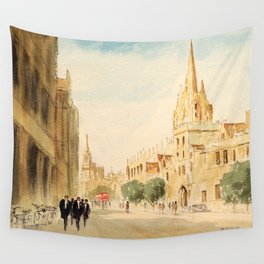 Oxford High Street Wall Tapestry