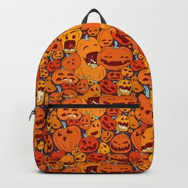 Halloween pumpkin pattern Backpack