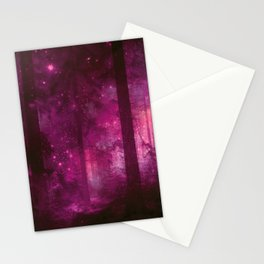 Into The Purpur Light Stationery Cards