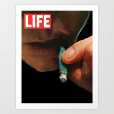 LIFE MAGAZINE: Marijuana Art Print