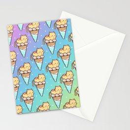 Ice Cream Cat Stationery Cards