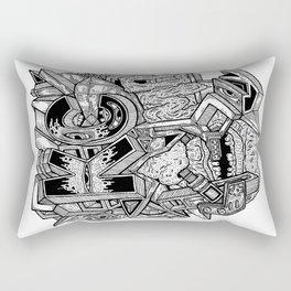 Geometric Mutations: Kansas City, MO Rectangular Pillow