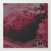 Canvas Prints featuring lovehurts by DuckyB