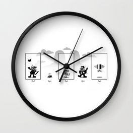 Krazy Cat Wall Clock